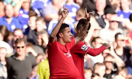 Coutinho's double sinks chelsea