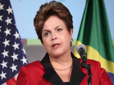 Brazilian President Dilma Rousseff.  shfwire