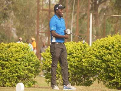 Sunday Olapade is among the new generation of Nigerian golfers, who have made fame and fortune playing the game.