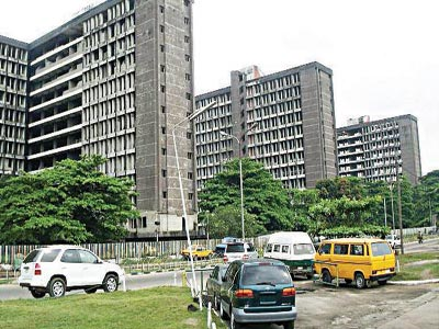 The old Federal Secretariat, Ikoyi, Lagos