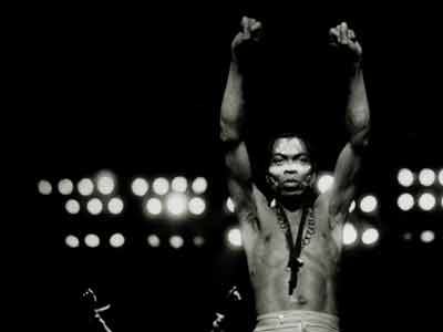 Fela. PHOTO: knittingfactoryrecords