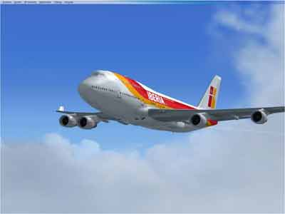 Iberia Flight. Photo: flyawaysimulation