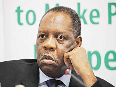 Issa Hayatou will lead FIFA for the nest 90 days.