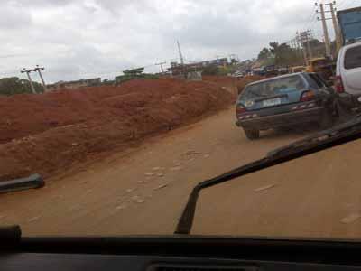 Deplorable Ogijo -Ikorodu Road. Photo: Nairaland