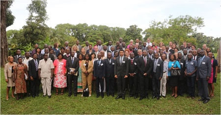 High-level Ministry of Health officials from more than 20 countries in Africa, together with ASLM and WHO AFRO