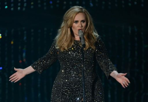 Adele's '25' album sales smashes record PHOTO: AFP