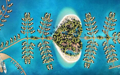Dubai gets heart-shaped island with hotel, floating homes. First 'Floating Seahorse' being built in the UAE will ready in December: Kleindienst