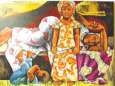 Sidiquat, from Polly Alakija's Art With A Social Conscience