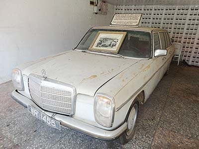 The Mercedes 230.6. Awolowo used to travel the length and breadth of the country during his electioneering campaigns in 1979 and 1983
