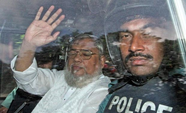 Mujahid, 67, is the second most senior member of Bangladesh's largest Islamist party. Photo; deccanchronicle