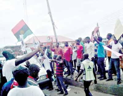 Biafra-protest
