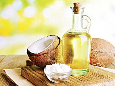 Coconut oil has been shown to be effective against Candida albicans infection in mice... Results showed that 21 days after the inoculation, the mice that were fed the coconut oil diet had C. albicans colonization in their stomachs that was significantly lower than the mice that were fed the beef tallow diet, the soybean oil diet or the standard diet. PHOTO CREDIT: google.com/search