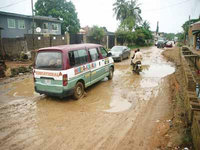 Dauda Ilo Street, Ejigbo.                   PHOTO: OSENI YUSUF