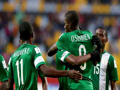 World champions… Coach Amuneke believes there are more talents on the streets of Nigeria waiting to be harnessed for the national teams. PHOTO: AFP
