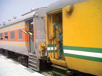 A passenger train FILE PHOTO