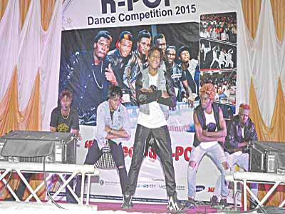 K-POP at the competition in Korea