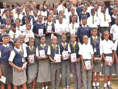 Students of Abeokuta Grammar School, Abeokuta, Ogun State