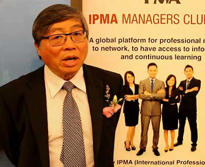 Chief Executive Officer, IPMA-UK, Prof. Mike Wooi