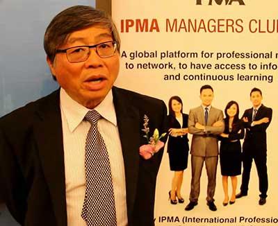 Chief Executive Officer, IPMA-UK, Prof. Mike Wooi