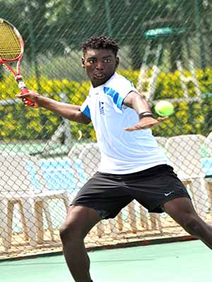 Sylvester Emmanuel is one of the players expected to vie for honour at the 2015 Governor's Cup Lagos Tennis Championship.