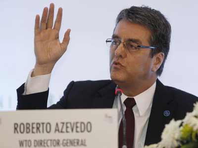 WTO Director-General Roberto Azevêdo PHOTO: www.talkvietnam.com
