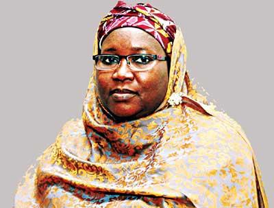 Former INEC boss, Amina Zakari, now PSN Fellow