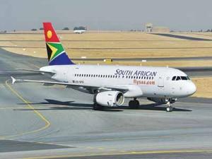 One of South African Airways' fleet