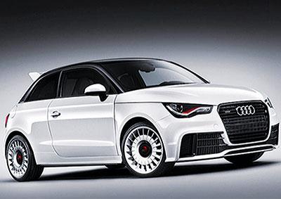 An Audi A1