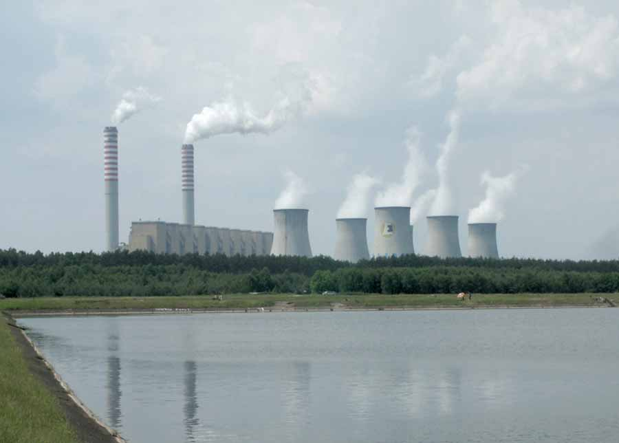 The 5,400MW Belchatow Coal fired Power Plant in Poland courtesy AFP