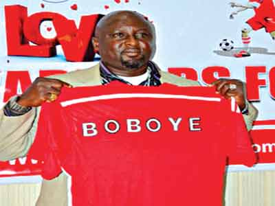 Abia Warriors' new coach, Kennedy Boboye.