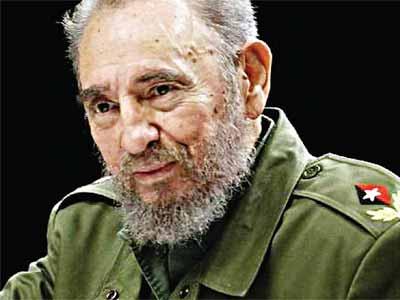 Cuban leader, Castro