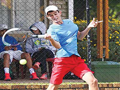 South Africa's Lloyd Harris defeated  Christian Paul yesterday to end Nigeria's hope of success in the first round of the on-going Governor's Cup Lagos Tennis Championship.
