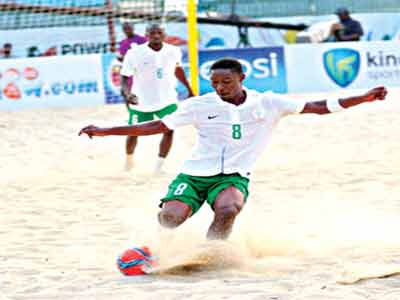 Abu Azeez was the star of the Nigerian team at the Copa Lagos.