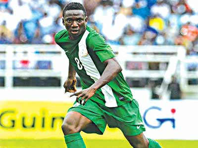 Nigeria's U-23 Eagles star, Oghenekaro Etebo, emerged the highest goal scorer at the just concluded AFCON in Senegal…at the weekend.