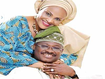 Governor-Ajimobi-and-wife--5-12-15