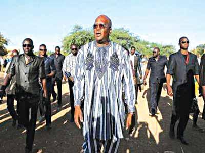 President Kabore