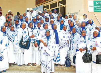 A cross section of NASFAT Women at the third Biennial General Conference of NASFAT held at Multipurpose Hall, Yaba College of Technology, Yaba, Lagos… last week