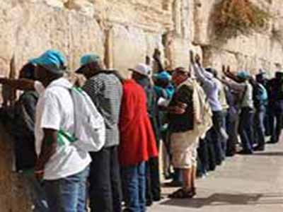 Nigeria-Pilgrims-at-Western-Wall