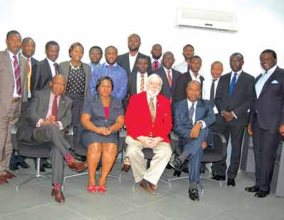 Participants at the Plant and Machinery Valuation training, organised by Messrs Paul Osaji and Company, an estate Surveyors and Valuer, in conjunction with the American Society of Appraisers, in Lagos, recently