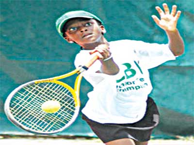 Oyinlomo Quadre is one of Nigeria's leading junior stars expected at the NNPC Masters' tourney.