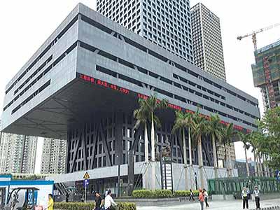 Shenzhen's Stock Exchange Building, Shenzhen