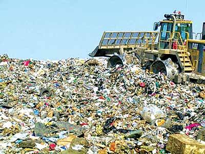 Waste site
