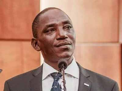 Sports Minister/Chairman of the NSC, Solomon Dalung