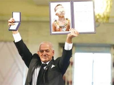 Tunisian Nobel Peace Prize winners 'set world example'