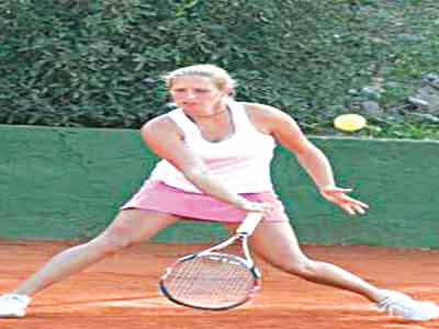 Conny Perrin of Switzerland won the women's singles of the Futures Four of the Governor's Cup Lagos Tennis Championship, which ended at the Lagos Lawn Tennis Club, Onikan… on Saturday.
