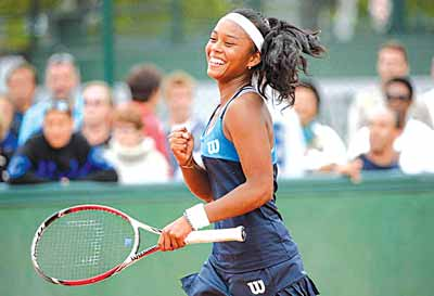 Tessah Andrianjaftrimo won the ladies' singles of the first round of the on-going Governor's Cup Lagos Tennis Championship.