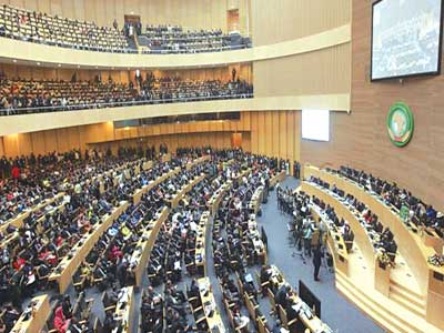 The decision came after a close-door session at the AU where African leaders met for a two-day summit PHOTO: EPA