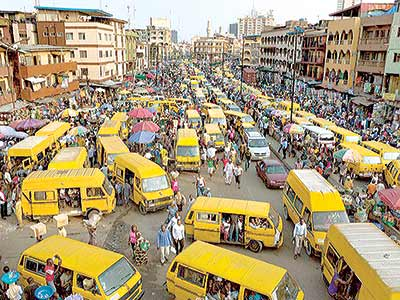 Central Lagos recently