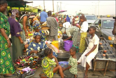 Marketplace in Nigeria (GEM photo)
