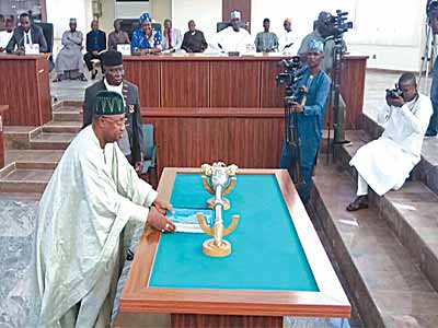 Adamawa budgets N120b, Yobe N88.9b for 2016 — News — The ... Yobe State House Of Assembly